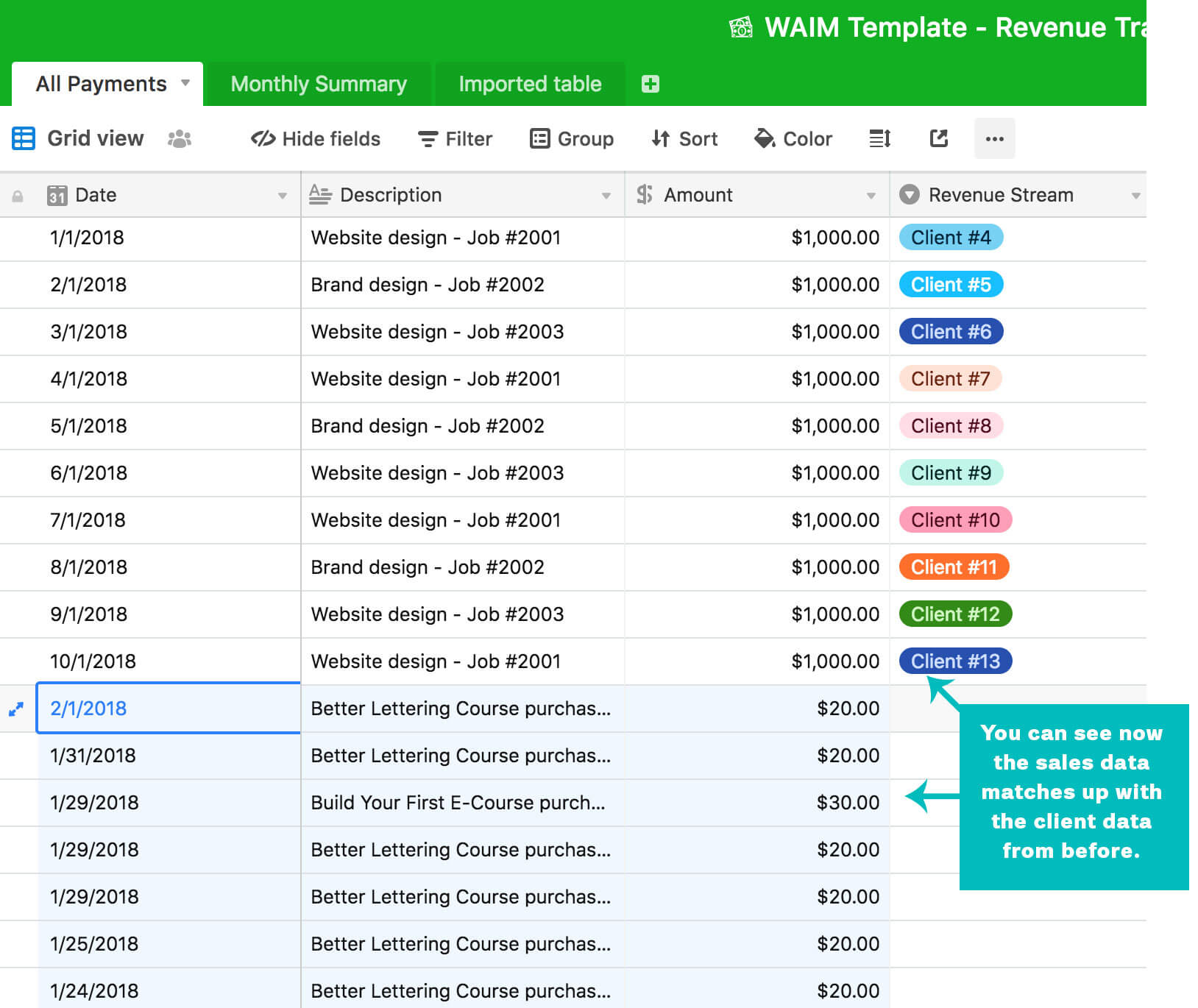 How to Use Airtable To Track Revenue