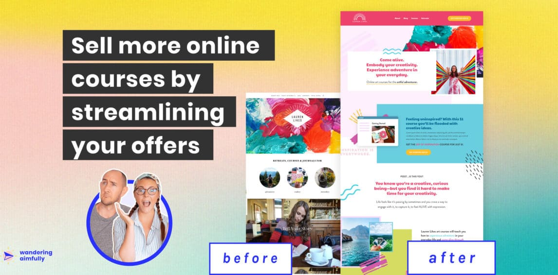 How An Artist Can Start Selling More Online Courses (Full Case Study)