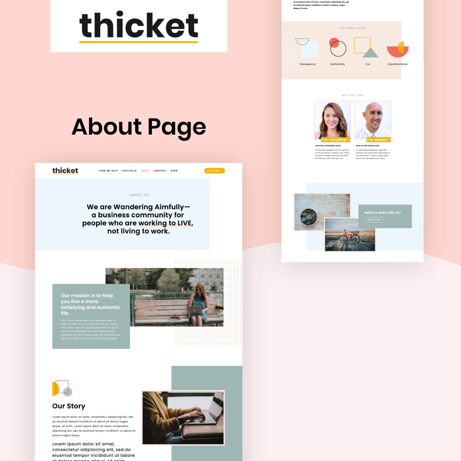 Thicket About Page
