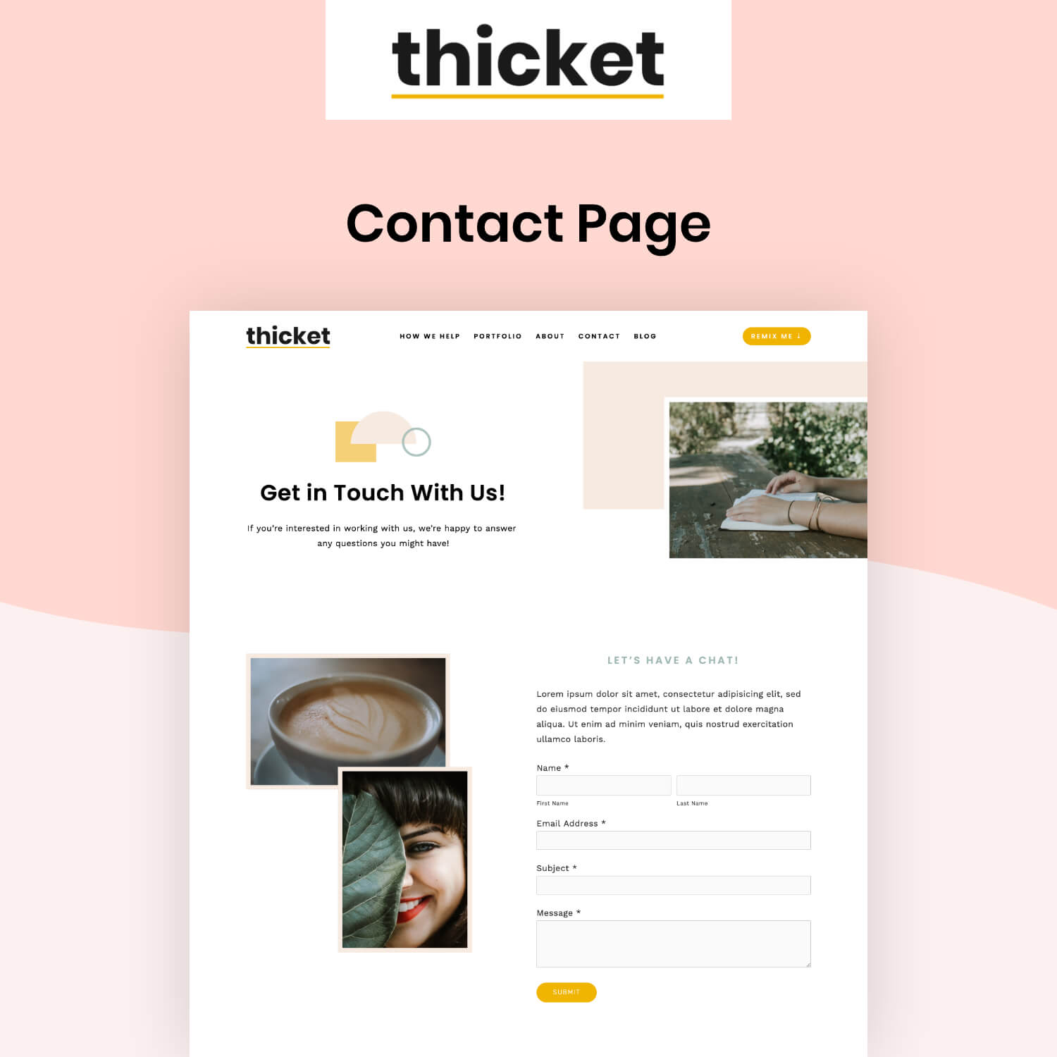 Thicket Contact Page
