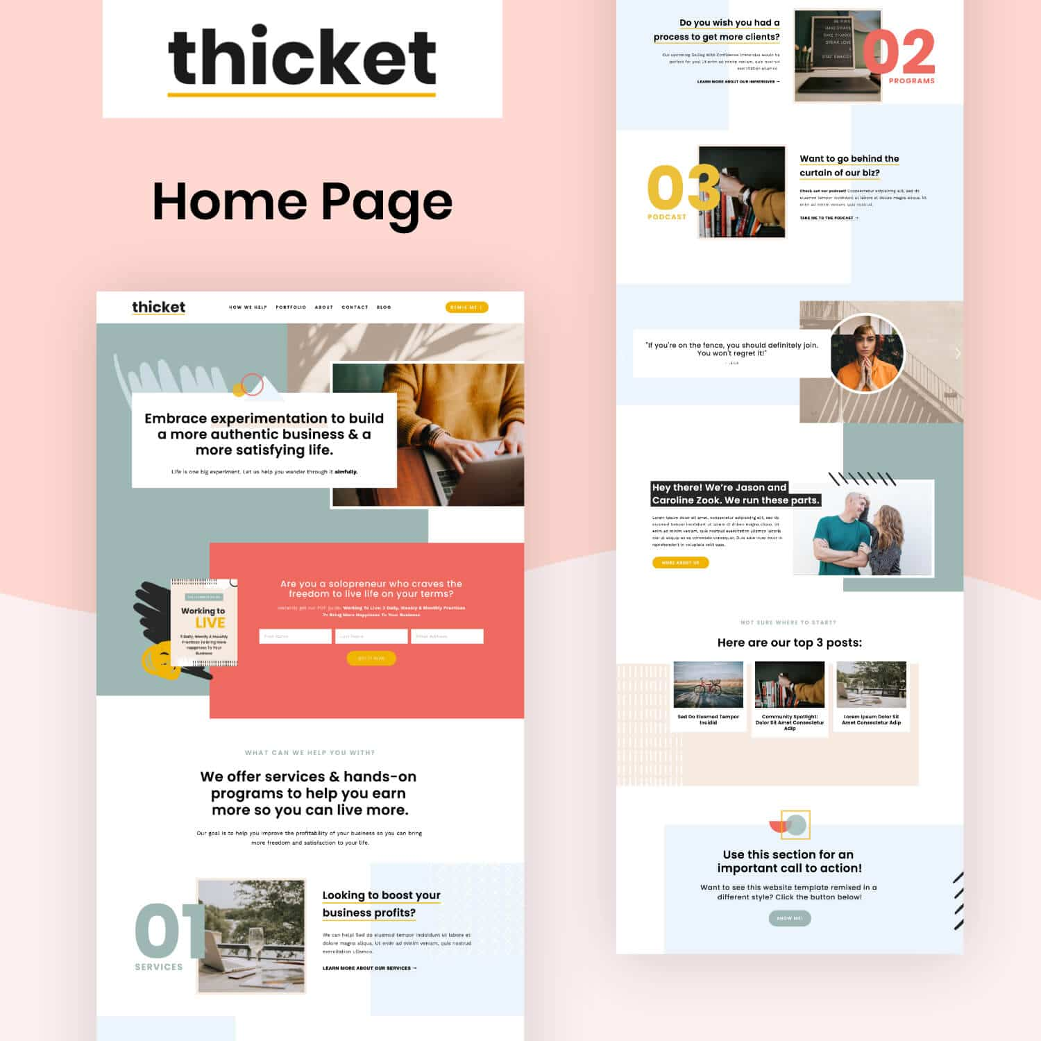 Thicket Home Page