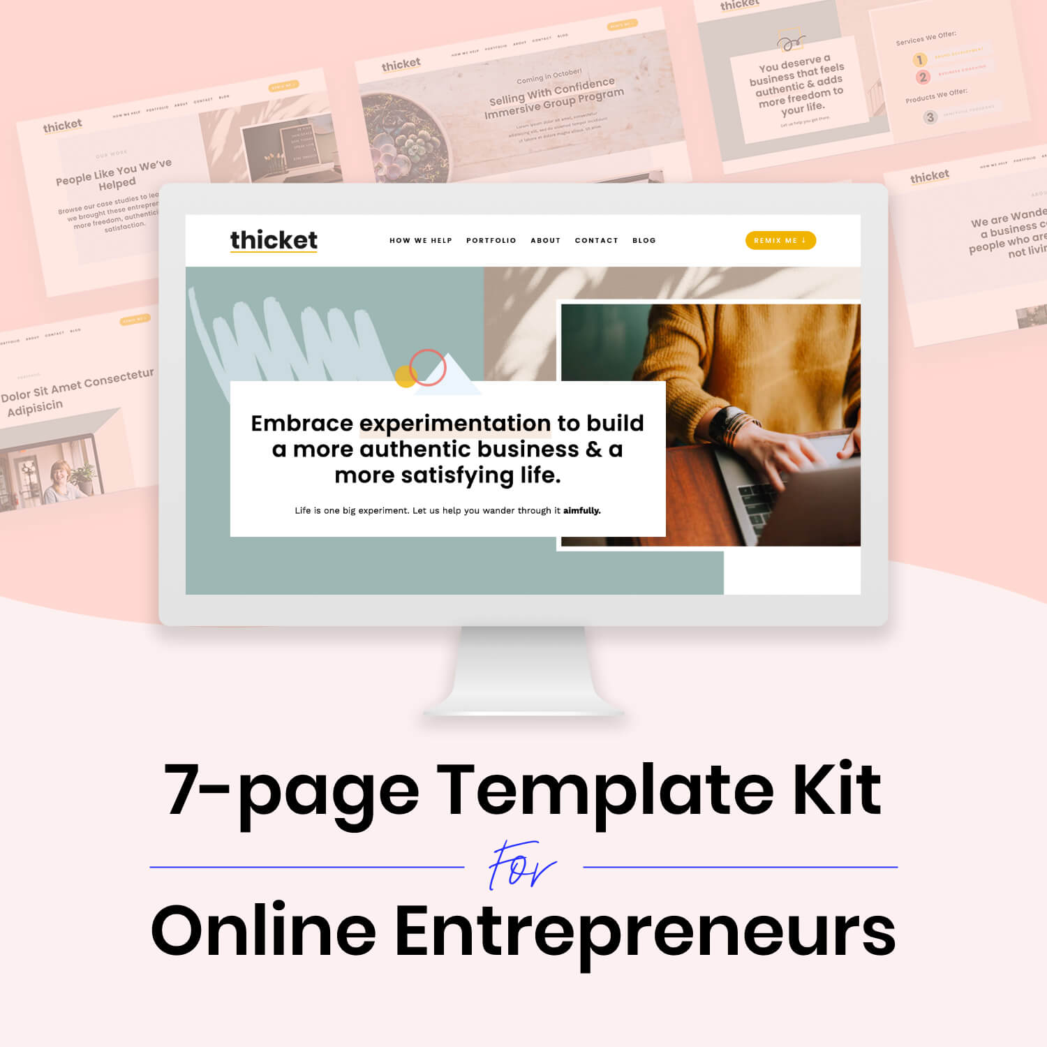 Thicket Squarespace Template Kit