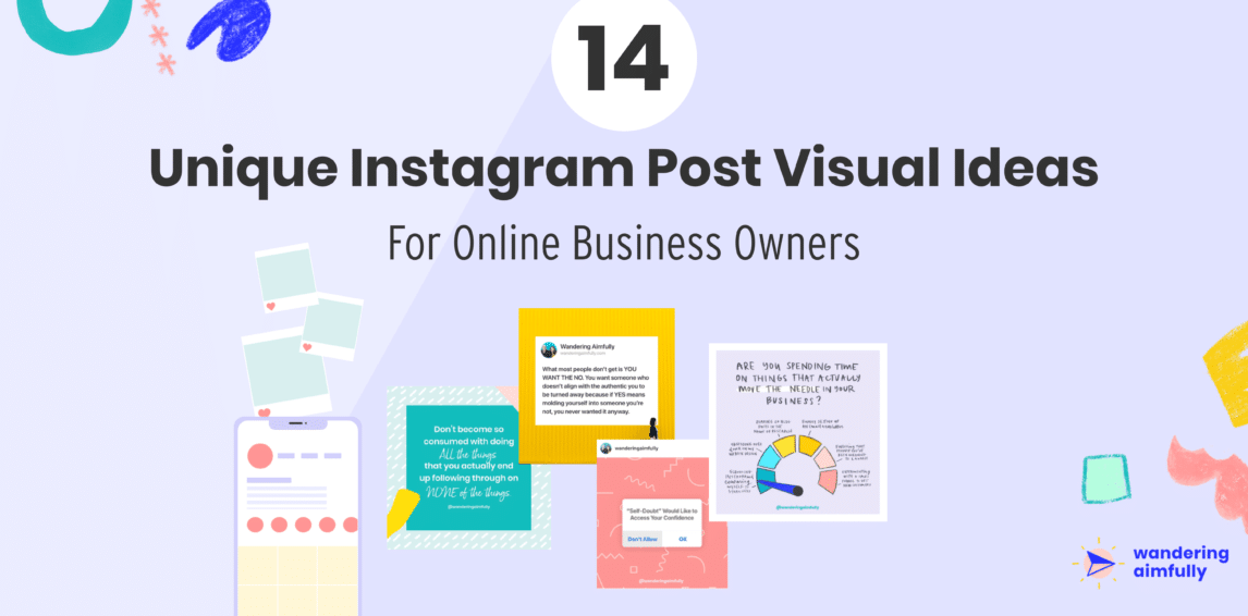 14 Unique Instagram Post Ideas for Online Business Owners