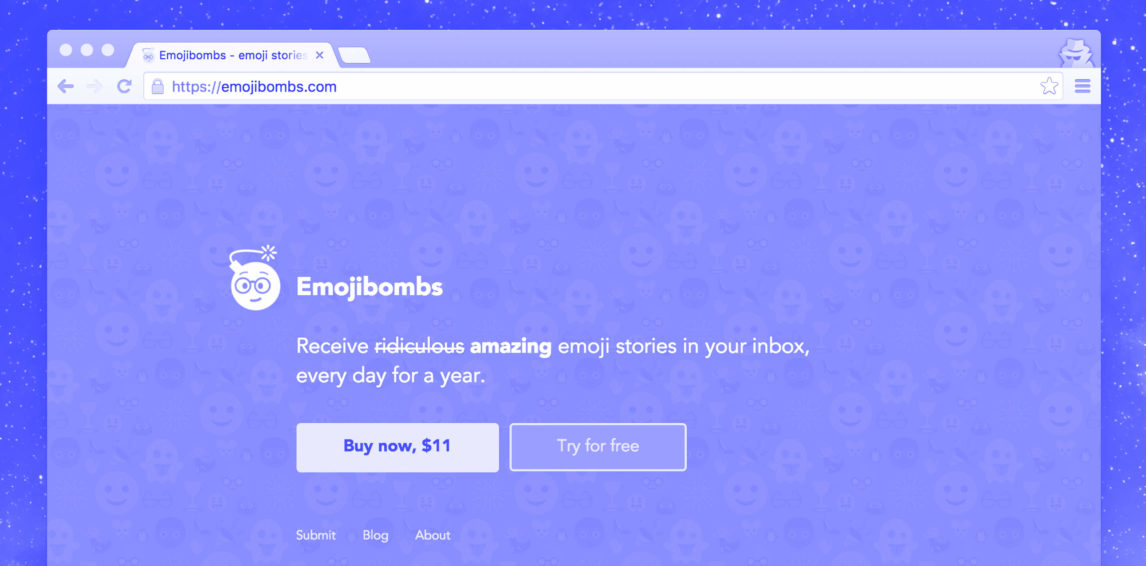 Behind the Scenes of Building a Product in 1 Day: Emojibombs
