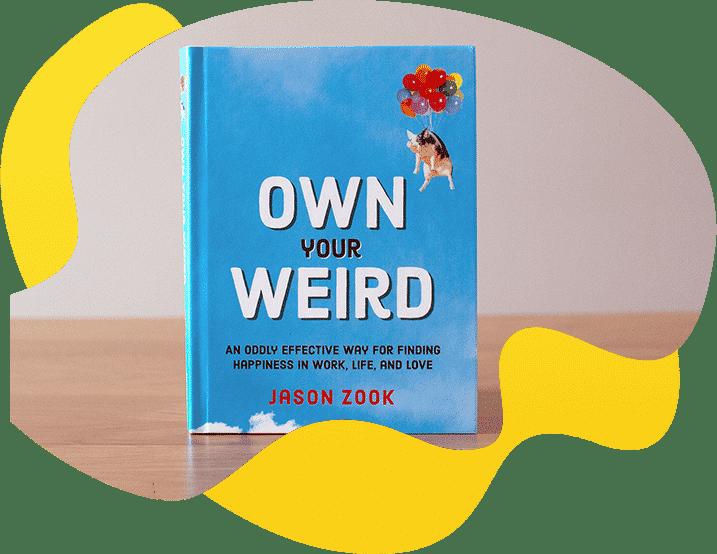 Own Your Weird book