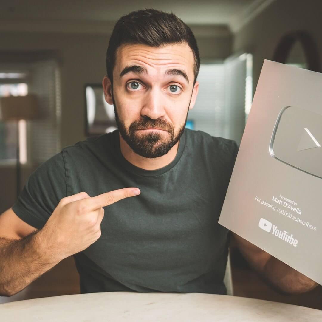 Matt D'Avella on YouTube
