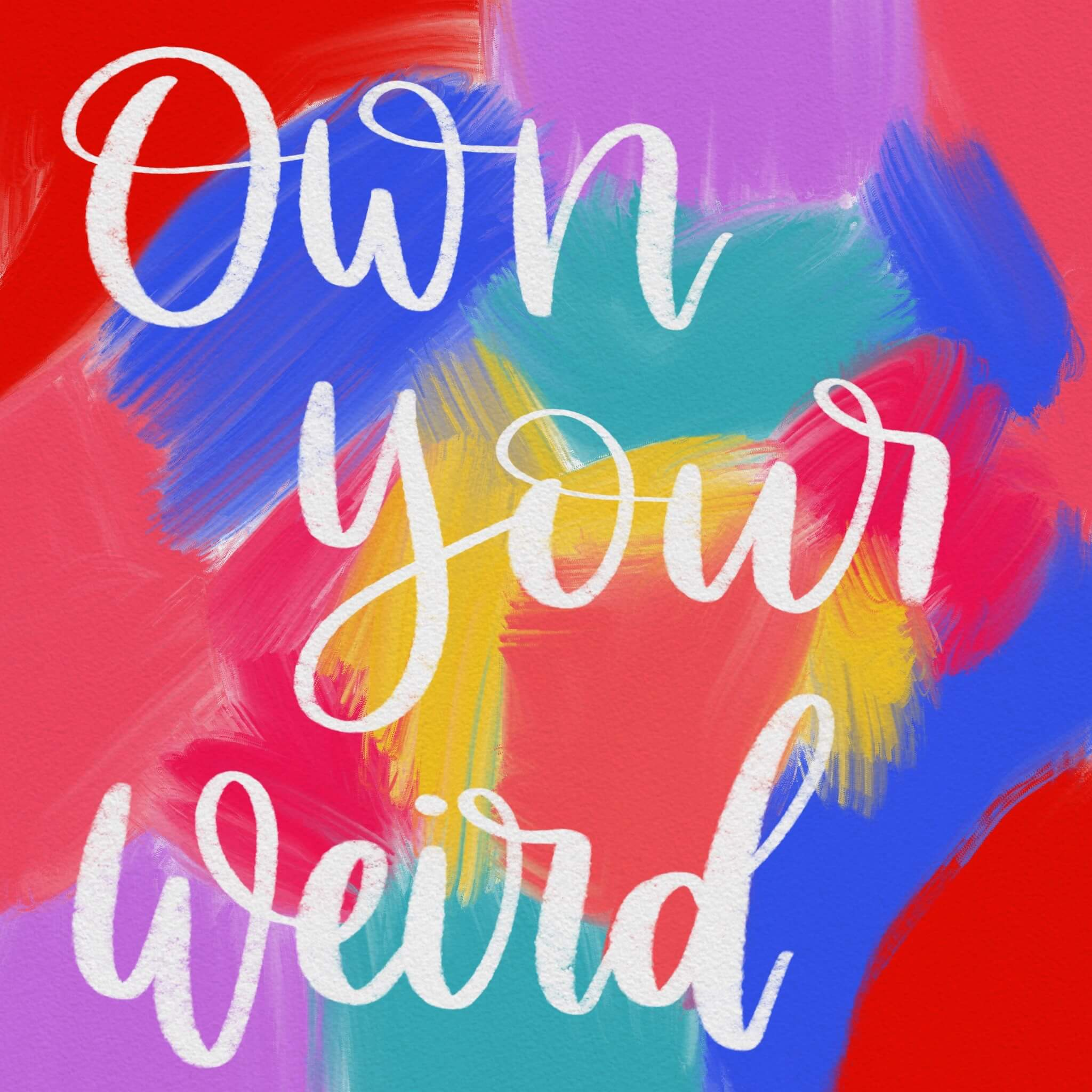 Own Your Weird by Jade Eby