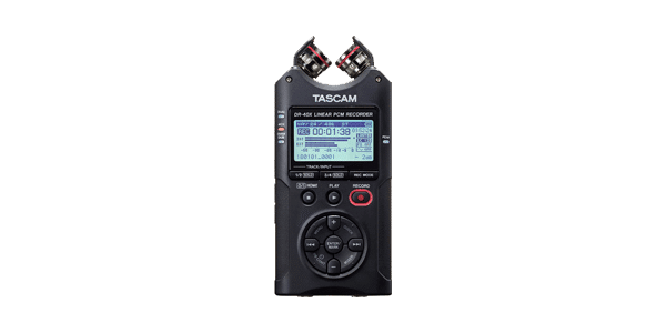 Tascam DR40X Audio
